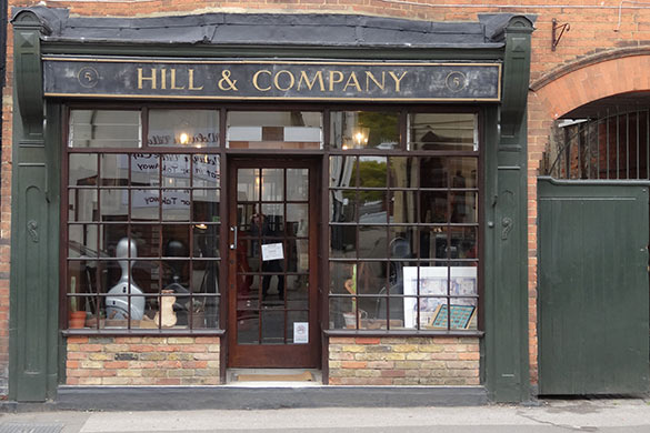 Hill & Company violin shop